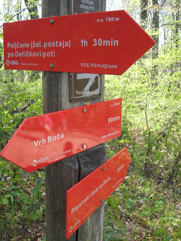 Planinski krožek na pohodu na Boč | Osnovna šola Gorica Velenje
